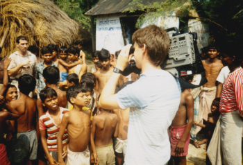 Filming in Rural India 1980s Visual Legacy Productions / tellmystory.us
