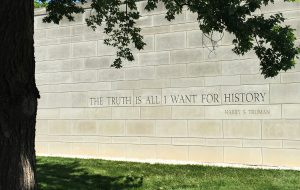 The Truth is All I Want for History, Truman's piano, President Truman Library and Museum, story, www.tellyourstory.us, Visual Legacy Productions