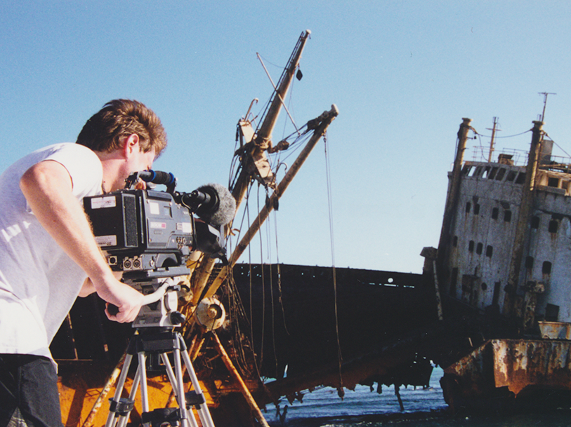 Filming a Shipwreck in the Mediterranean Sea Visual Legacy Productions / tellmystory.us