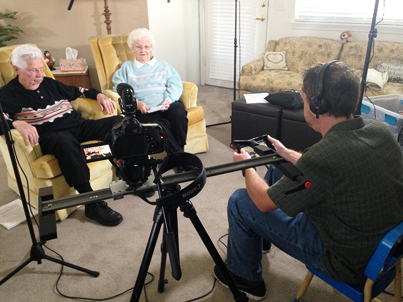 Behind the Scenes of a Legacy Interview About Bio Team Visual Legacy Productions / tellmystory.us